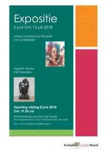 Expositie Schilderclub 2018 in de Tuyter